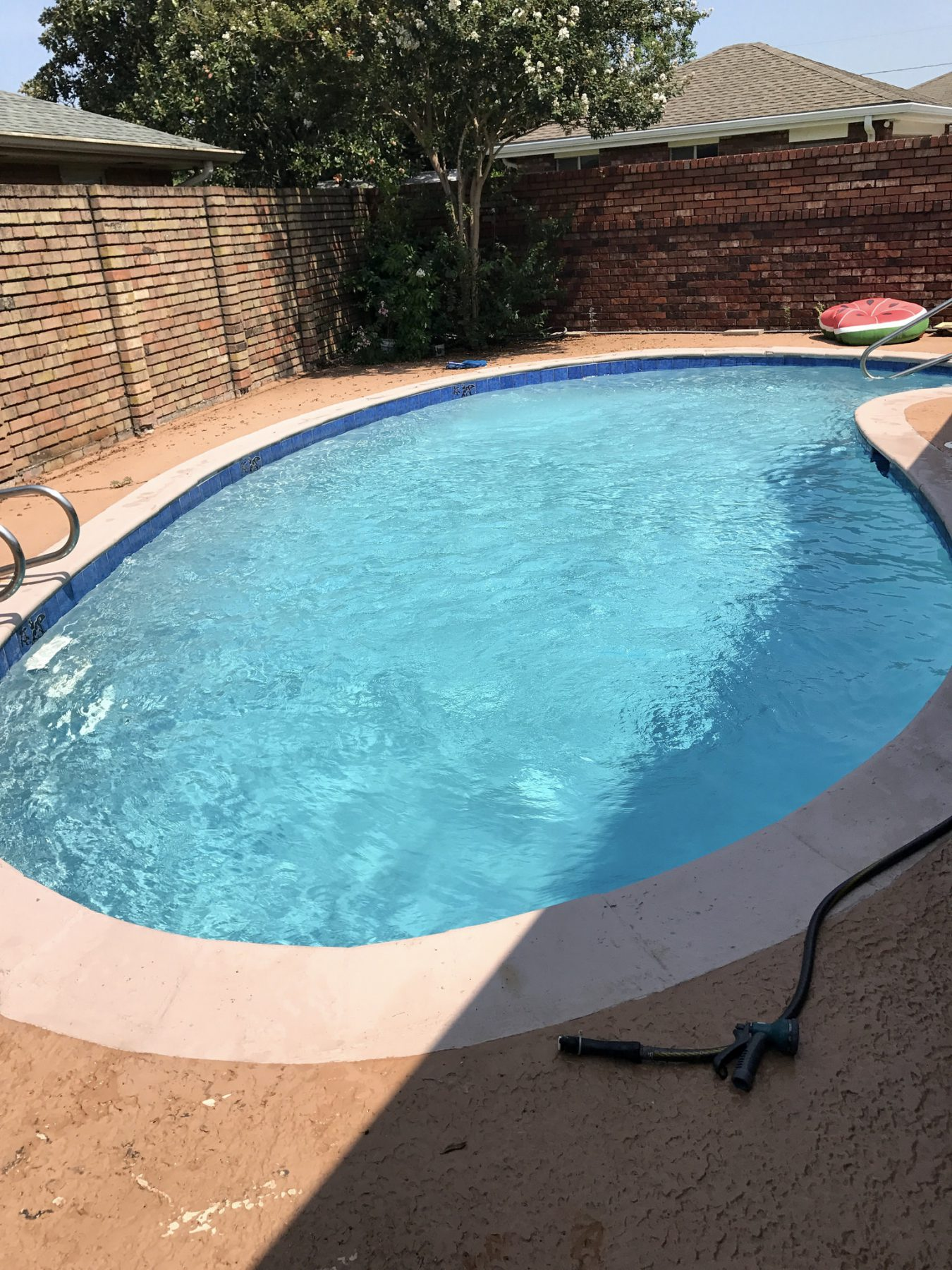Pool plaster project - New Orleans Pool Repair and maintenance, in the New Orleans and Metairie area