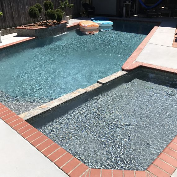 Pool construction project - New Orleans pool repair and maintenance, in the New Orleans and Metairie area