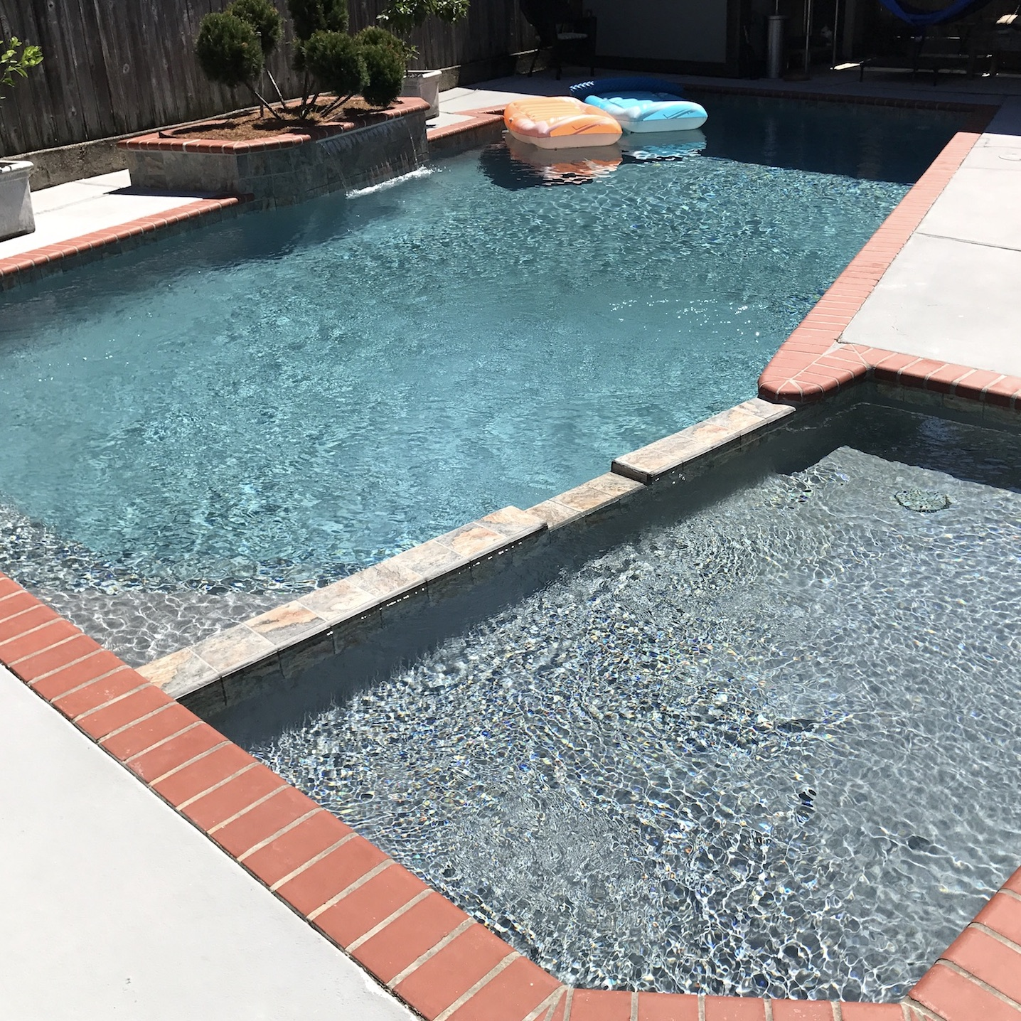 Pool plaster project - New Orleans pool construction and maintenance, in the New Orleans and Metairie area