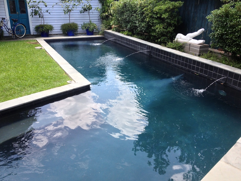 Pool plaster project - New Orleans pool repair and maintenance, in the New Orleans area