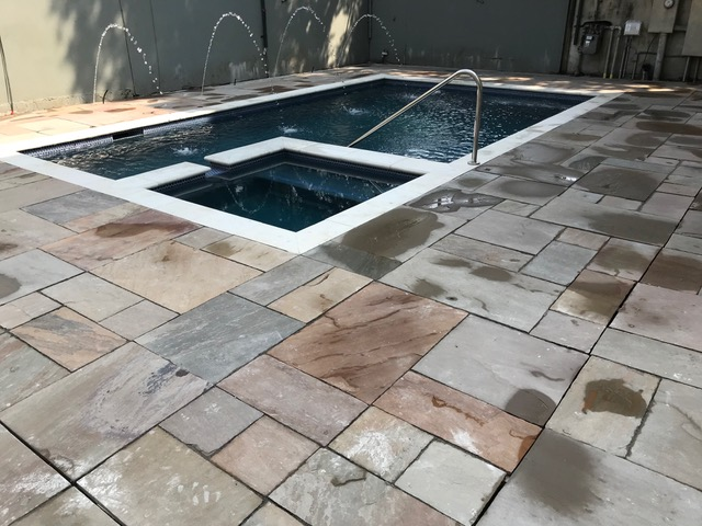 Custom spa work - New Orleans pool construction and maintenance